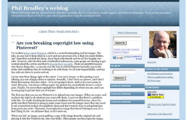 http://philbradley.typepad.com/phil_bradleys_weblog/2012/03/are-you-breaking-copyright-law-using-pinterest.html