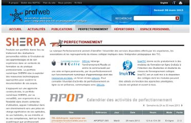http://www.profweb.qc.ca/fr/perfectionnement/liste-des-activites/index.html