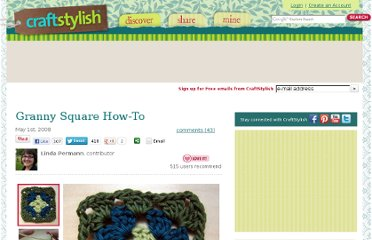 http://www.craftstylish.com/item/1437/granny-square-how-to/page/all