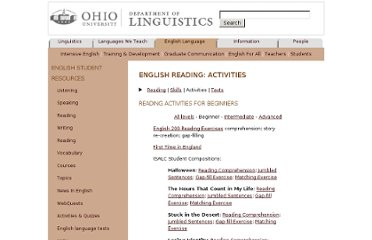 http://www.ohio.edu/linguistics/esl/reading/activities1.html
