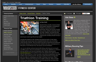 http://www.military.com/military-fitness/running/triathlon-training