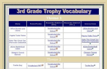 http://www.vrml.k12.la.us/3rd/homework/reading/trophy3/voc/voc.htm