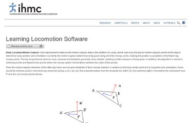 http://www.ihmc.us/groups/learninglocomotion/wiki/2d12a/Learning_Locomotion_Software.html