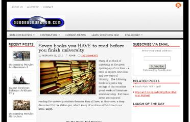 http://www.goodbyeboredom.com/2012/02/01/seven-books-you-have-to-read-before-you-finish-university/