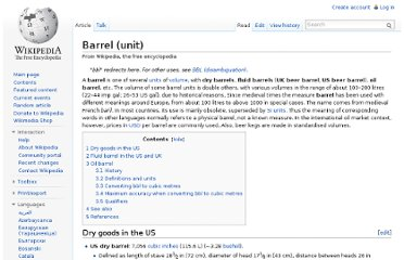 http://en.wikipedia.org/wiki/Barrel_(unit)