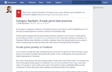 http://developers.facebook.com/blog/post/2012/03/05/category-spotlight--arcade-game-best-practices/