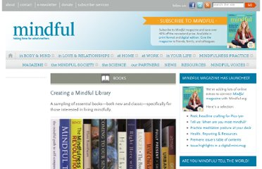 http://www.mindful.org/Books/creating-a-mindful-library