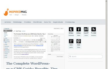 http://inspiredm.com/wordpress-cms-guide/