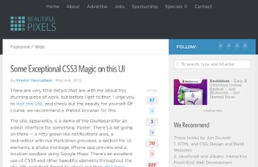 http://beautifulpixels.com/web/some-exceptional-css3-magic-on-this-ui/