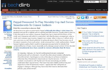http://www.techdirt.com/articles/20120301/17363217939/paypal-pressured-to-play-morality-cop-forces-smashwords-to-censor-authors.shtml