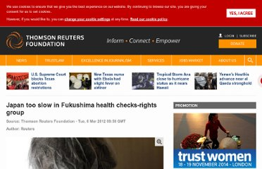 http://www.trust.org/alertnet/news/japan-too-slow-in-fukushima-health-checks-rights-group