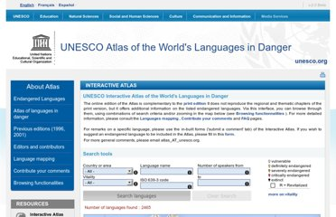 http://www.unesco.org/culture/languages-atlas/