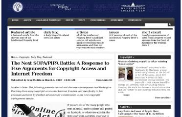 http://www.ipbrief.net/2012/03/06/the-next-sopapipa-battle-a-response-to-five-arguments-for-copyright-access-and-internet-freedom/