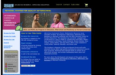 http://www.sedl.org/afterschool/guide/math/