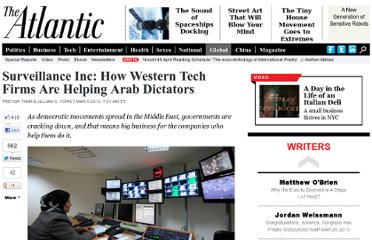 http://www.theatlantic.com/international/archive/2012/03/surveillance-inc-how-western-tech-firms-are-helping-arab-dictators/254008/