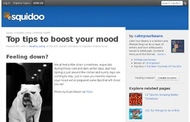 http://www.squidoo.com/top-tips-to-boost-your-mood