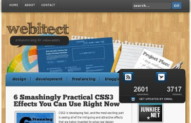 http://webitect.net/design/designtutorials/6-smashingly-practical-css3-effects-you-can-use-right-now/