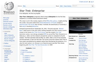 http://en.wikipedia.org/wiki/Star_Trek:_Enterprise