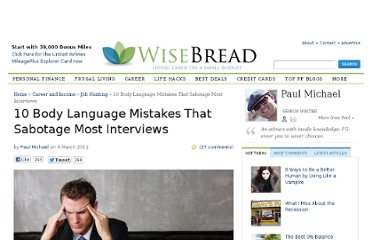http://www.wisebread.com/10-body-language-mistakes-that-sabotage-most-interviews