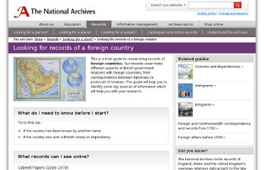 http://www.nationalarchives.gov.uk/records/looking-for-place/foreigncountry.htm