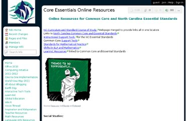 http://magellantech4u.wikispaces.com/Core+Essentials+Online+Resources