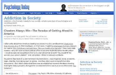 http://www.psychologytoday.com/blog/addiction-in-society/201203/cheaters-always-win-the-paradox-getting-ahead-in-america