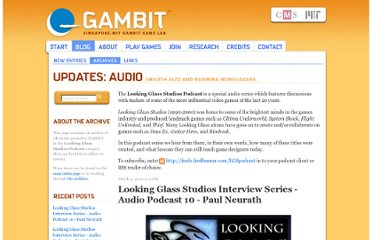http://gambit.mit.edu/updates/audio/looking_glass_studios_podcast/
