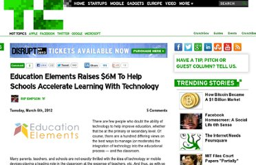 http://techcrunch.com/2012/03/06/education-elements-funding/