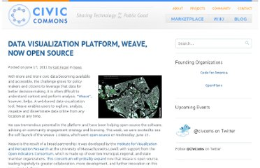 http://blog.civiccommons.org/2011/06/weave-open-source/