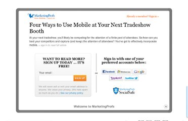 http://www.marketingprofs.com/articles/2012/7265/four-ways-to-use-mobile-at-your-next-tradeshow-booth