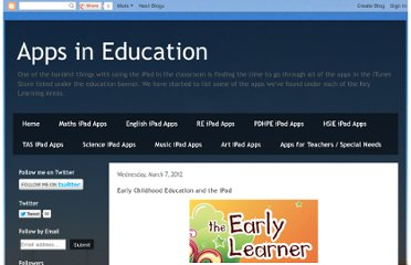 http://appsineducation.blogspot.com/2012/03/early-childhood-education-and-ipad.html