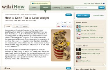 http://www.wikihow.com/Drink-Tea-to-Lose-Weight
