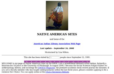 http://www.nativeculturelinks.com/indians.html