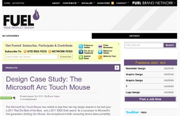 http://www.fuelyourproductdesign.com/design-case-study-the-microsoft-arc-touch-mouse/