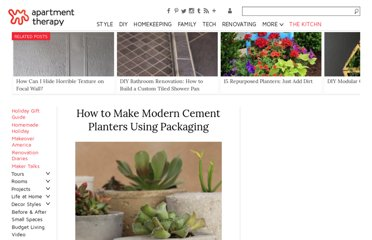 http://www.apartmenttherapy.com/how-to-make-modern-cement-plan-132678
