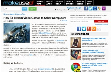 http://www.makeuseof.com/tag/stream-games-to-other-computers-with-streammygame/
