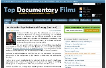 http://topdocumentaryfilms.com/arithmetic-population-and-energy-lecture/