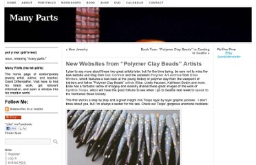 http://diffendaffer.com/new-websites-from-polymer-clay-beads-artists/