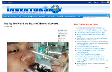 http://inventorspot.com/articles/top_ten_weird_and_bizarre_chinese_soft_drinks