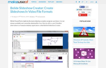 http://www.makeuseof.com/dir/bolide-slideshow-creator-create-slideshows-video-file-formats/