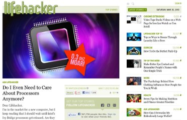 http://lifehacker.com/5891007/do-i-even-need-to-care-about-processors-anymore
