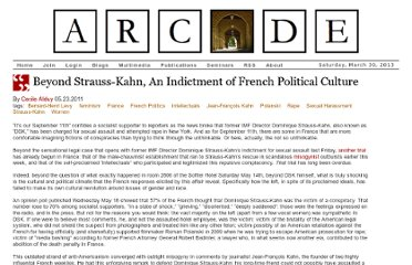 http://arcade.stanford.edu/beyond-strauss-kahn-indictment-of-french-political-culture