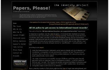 http://papersplease.org/wp/2012/03/07/all-us-police-to-get-access-to-international-travel-records/