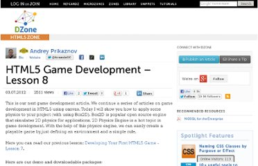 http://css.dzone.com/articles/html5-game-development-%E2%80%93-3