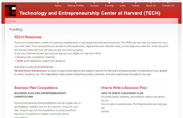 http://www.entrepreneurship.seas.harvard.edu/funding