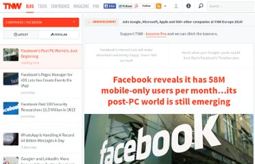 http://thenextweb.com/facebook/2012/03/08/facebook-reveals-it-has-58m-mobile-only-users-per-month-its-post-pc-world-is-still-emerging/