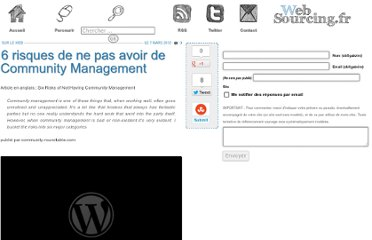 http://blog.websourcing.fr/ontheweb/risques-pas-avoir-community-management/