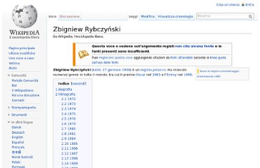 http://it.wikipedia.org/wiki/Zbigniew_Rybczy%C5%84ski