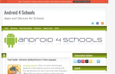 http://www.android4schools.com/2012/03/08/smart-speller-interactive-spelling-practice-in-twelve-languages/