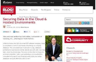 http://www.rackspace.com/blog/securing-data-in-the-cloud-hosted-environments/